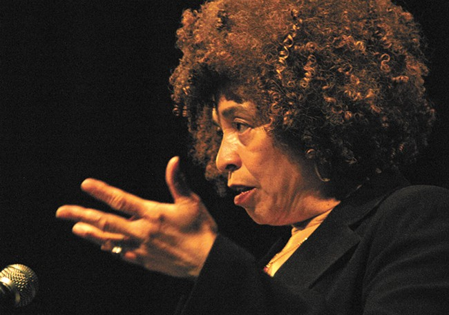 Angela Davis, an internationally known professor and activist, is delivering a keynote address on WSU's Pullman campus (in the CUB Senior Ballroom) on Jan. 22 at 7:30 pm. The event is free and open to the public.