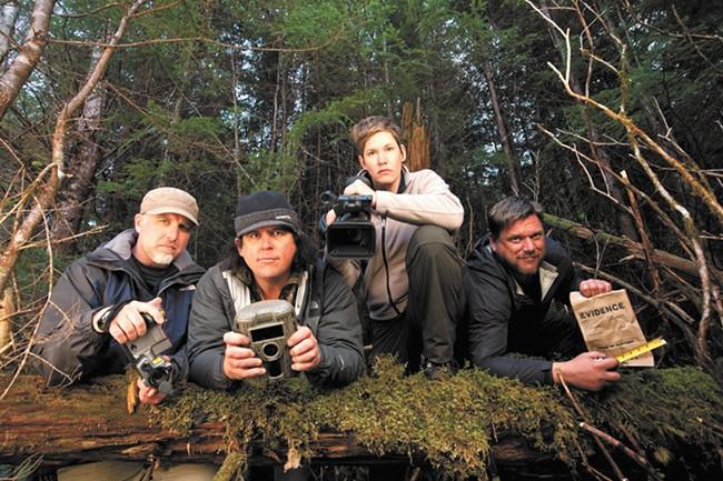 Animal Planet's Finding Bigfoot.