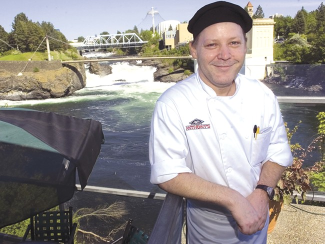 Anthony's Chef Mike Hackett has helmed the restaurant since 2007.