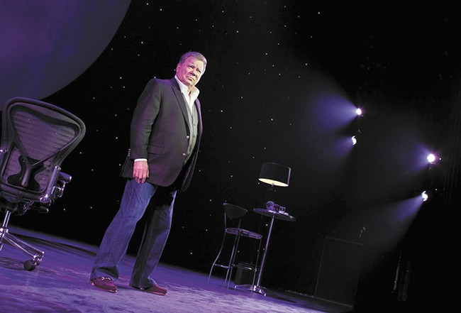 At 83, William Shatner remains as busy as ever. - JOAN MARCUS