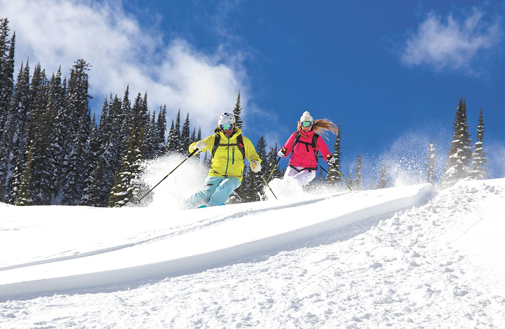 Backcountry skiing north of Whitefish, Montana - BOB LEGASA