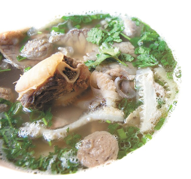 Beef pho from Pho City. - JENNIFER DEBARROS