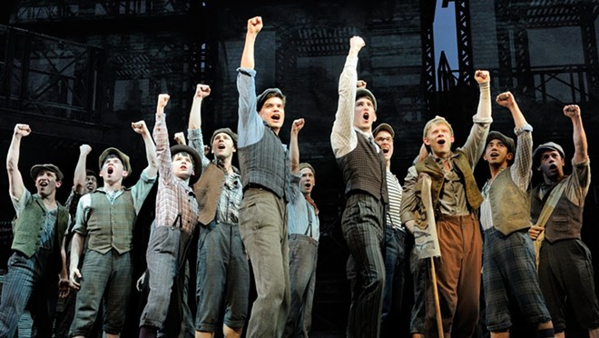 Disney's Newsies - is one of the highlights of the 2015-2016 Best of Broadway season coming to Spokane.