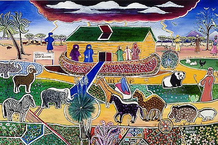 """Big Storm A-Comin' (Noah's Ark)"", by Alpha Andrews, is featured in ""Amen, Amen."""