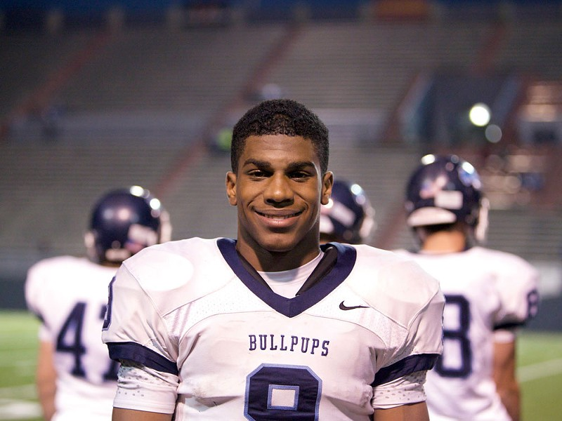 Bishop Sankey runs into the record books. - BEN TOBIN