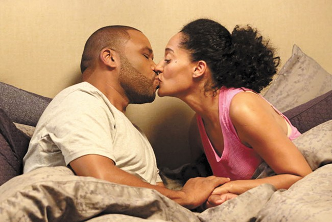 Black-ish's Anthony Anderson and Tracee Ellis Ross.