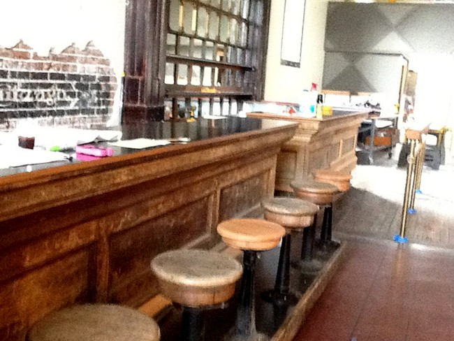 Boots Bakery posted this photo of their bar on their Facebook page.