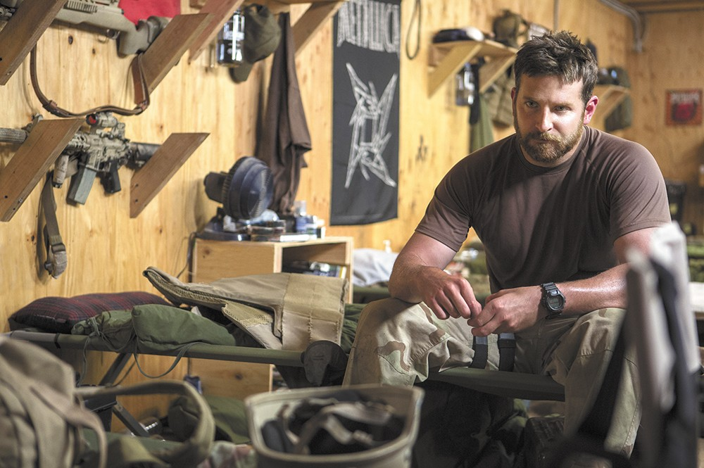 Bradley Cooper turns in one of his best performances to date as real-life sniper Chris Kyle.