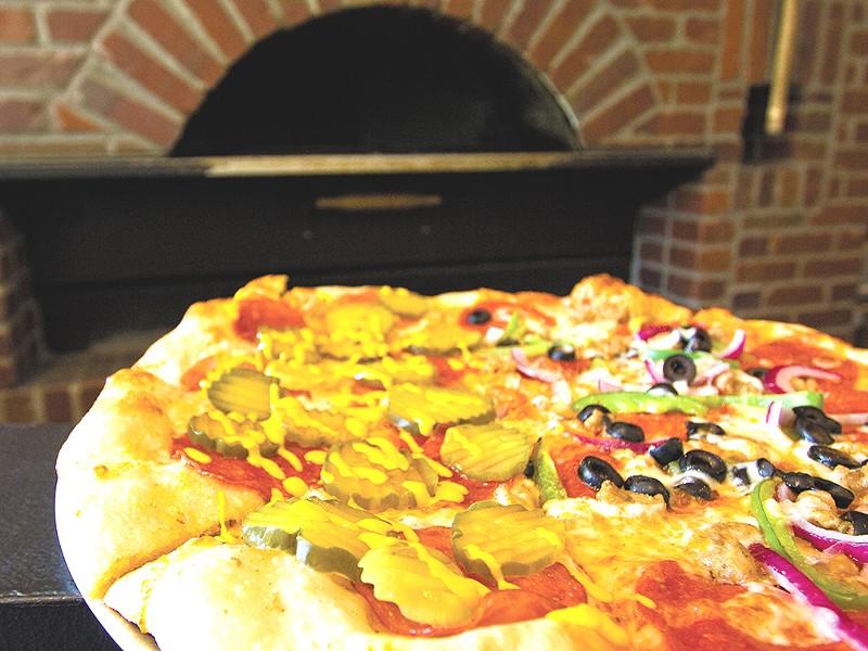 Brick City Pizza has found a following on the South Hill. - JOE KONEK