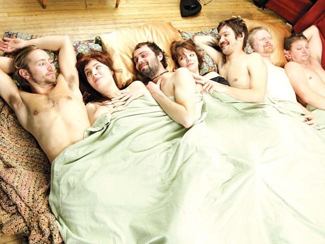 Buffalo Death Beam: one big happy family. - YOUNG KWAK