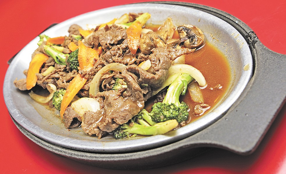 Bulgogi, a popular Korean dish, is a favorite at House of Seoul in Airway Heights. - YOUNG KWAK