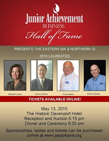 HOSTED BY JUNIOR ACHIEVEMENT OF WA, EASTERN WA AND NORTHERN ID - Business Hall of Fame