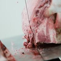 PHOTOS: Butchering a Pig