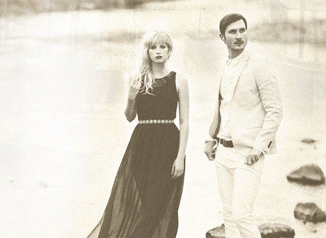 Cami Bradley and Whitney Dean make up the new cinematic folk-pop duo the Sweeplings.|