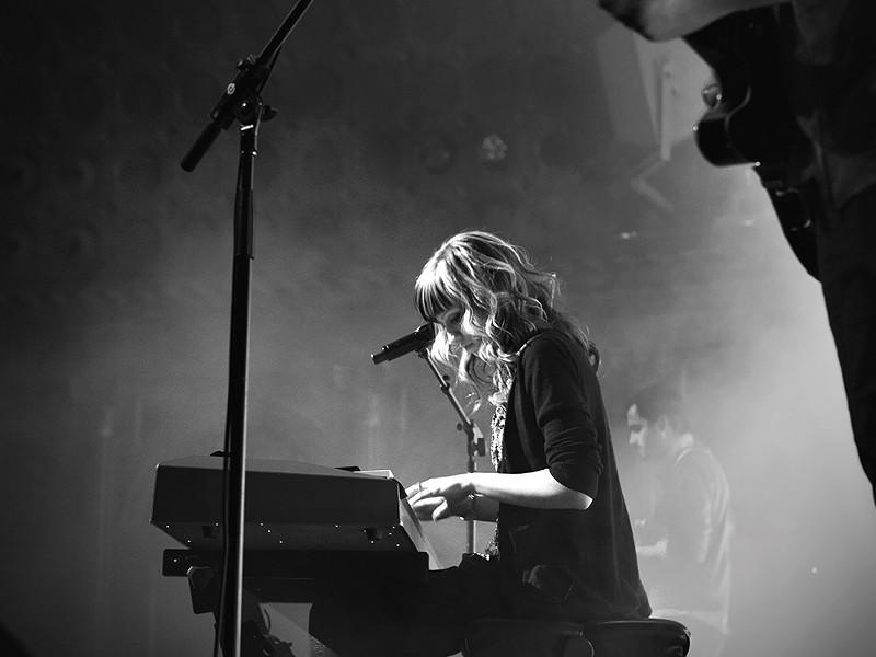 Cami Bradley performs last weekend at the Bing Crosby Theater. - JOE KONEK