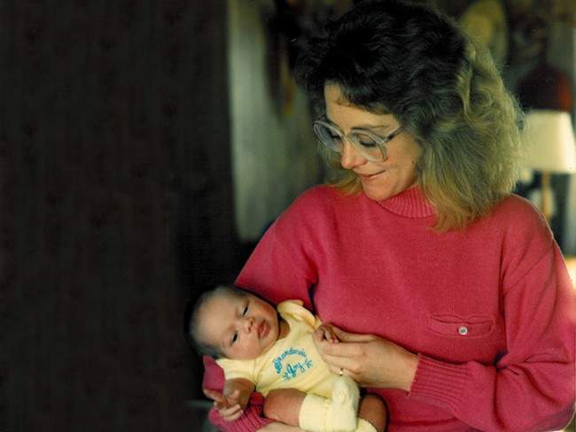 Carol Bradley Groover, the mother of the author, died in 2004 of complications of chronic alcoholism.