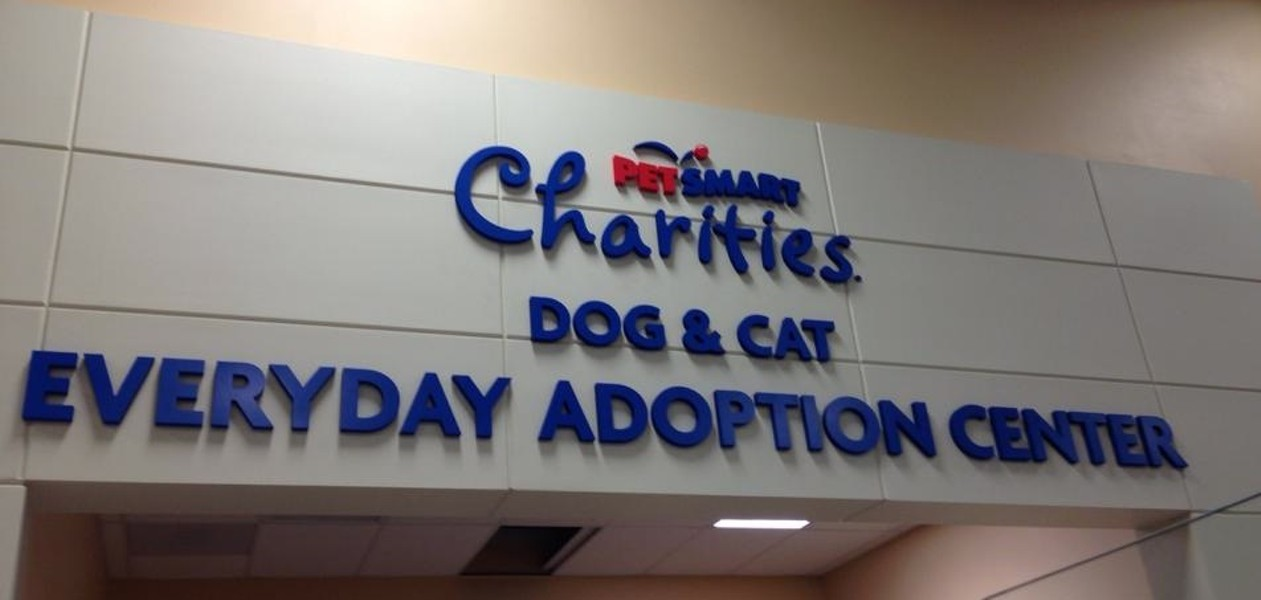 The new adoption center is located inside the PetSmart store at the North Division 'Y'. - JENNA CARROLL, SPOKANE HUMANE SOCIETY