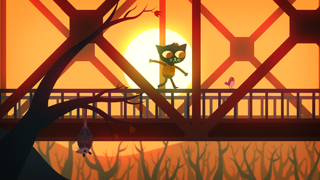 Play as Mae the cat in this beautifully-designed indie platformer coming out sometime in 2015. - NIGHT IN THE WOODS