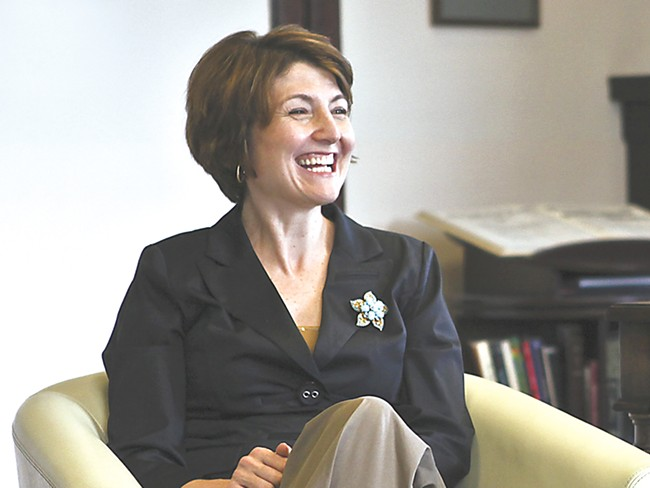"Cathy McMorris Rodgers says of Republicans: ""I don\'t believe we need to be moderate. But I do believe we need to modernize.\"" - CHRISTIAN WILSON"