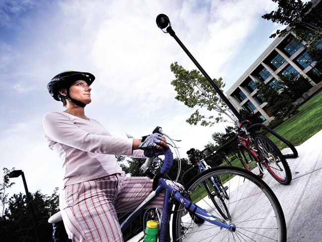Chamberlain is leaving WSU for the Bicycle Alliance of Washington. - YOUNG KWAK