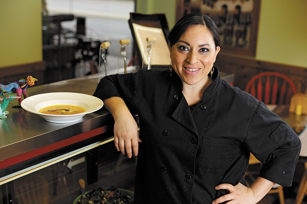 Chef Colomba Aguilar of Cafe Carambola. - YOUNG KWAK