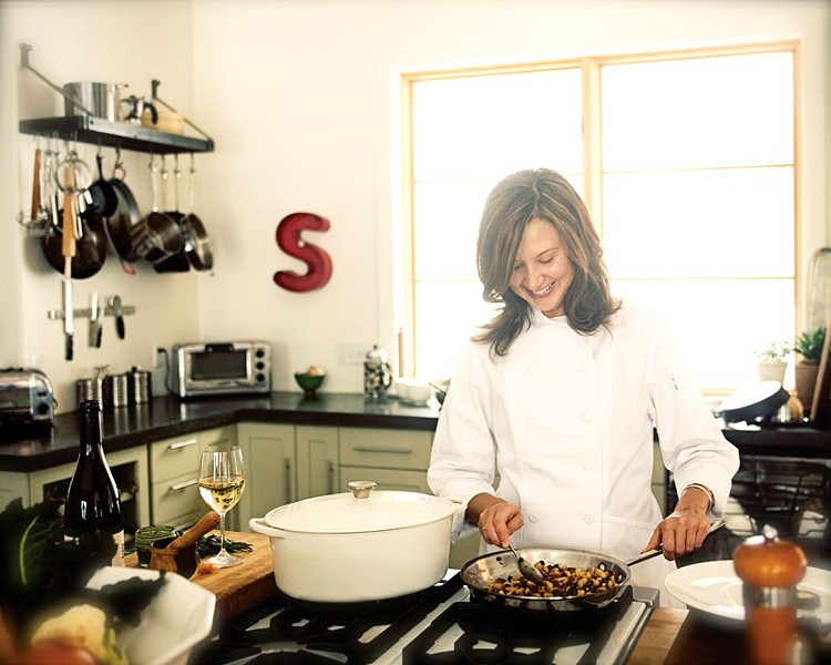 Chef Sylvia Wilson: I just try to eat as wholesomely as possible.