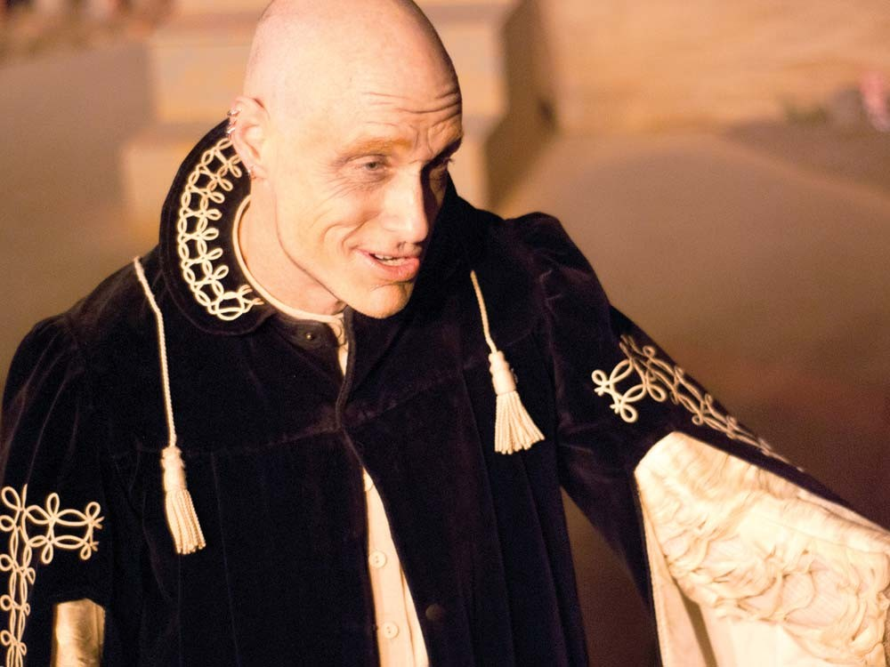 Chris LeBlanc as Roger Chillingworth - KYNDALL ELLIOT