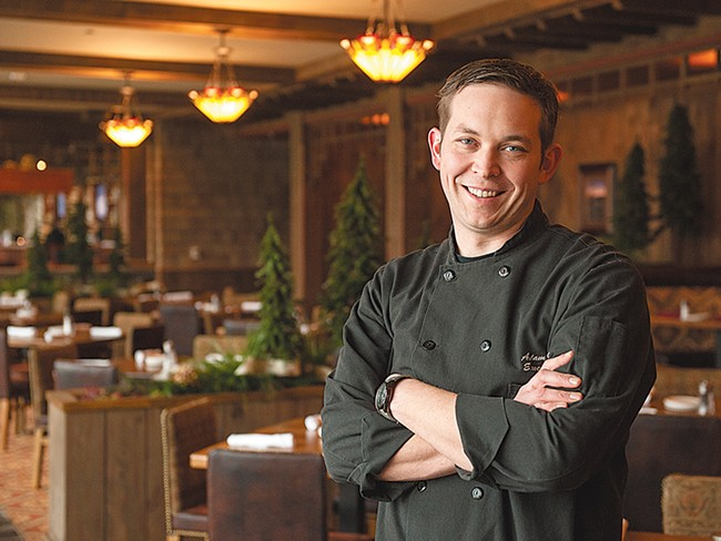 Coeur d\'Alene Casino Head Chef Adam Hegsted. - DON HAMILTON