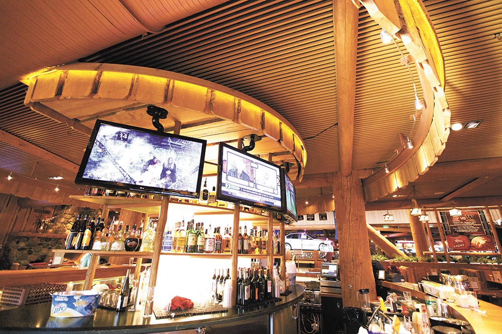 Coeur d'Alene Casino's Red Tail Grill serves up a casual vibe. - YOUNG KWAK