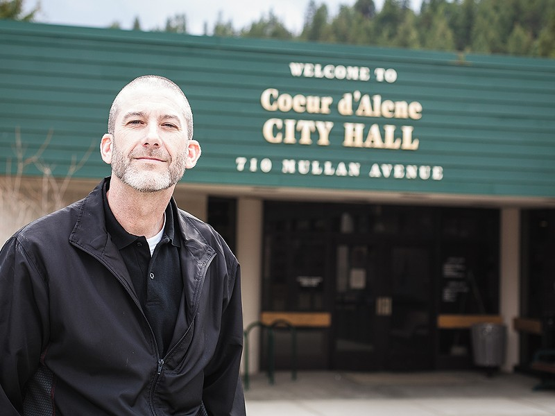 """Councilman Steve Adams says he\'s been inspired by libertarian Ron Paul. \""""They call him Doctor No,\"""" Adams says. - MIKE MCCALL"""