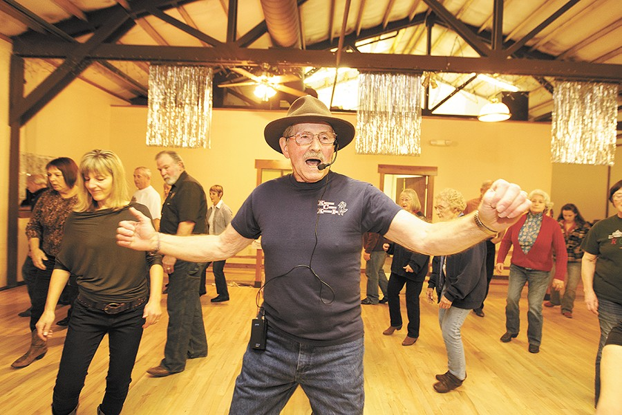 Crossroads' owner Bob Crossman (center) lost his dance partner in May. - YOUNG KWAK