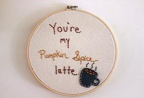 Custom PSL embroidery.