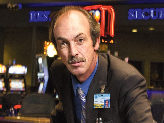 Danny Cable\'s card-dealing shift at Northern Quest doesn\'t begin until midnight. - CHAD RAMSEY