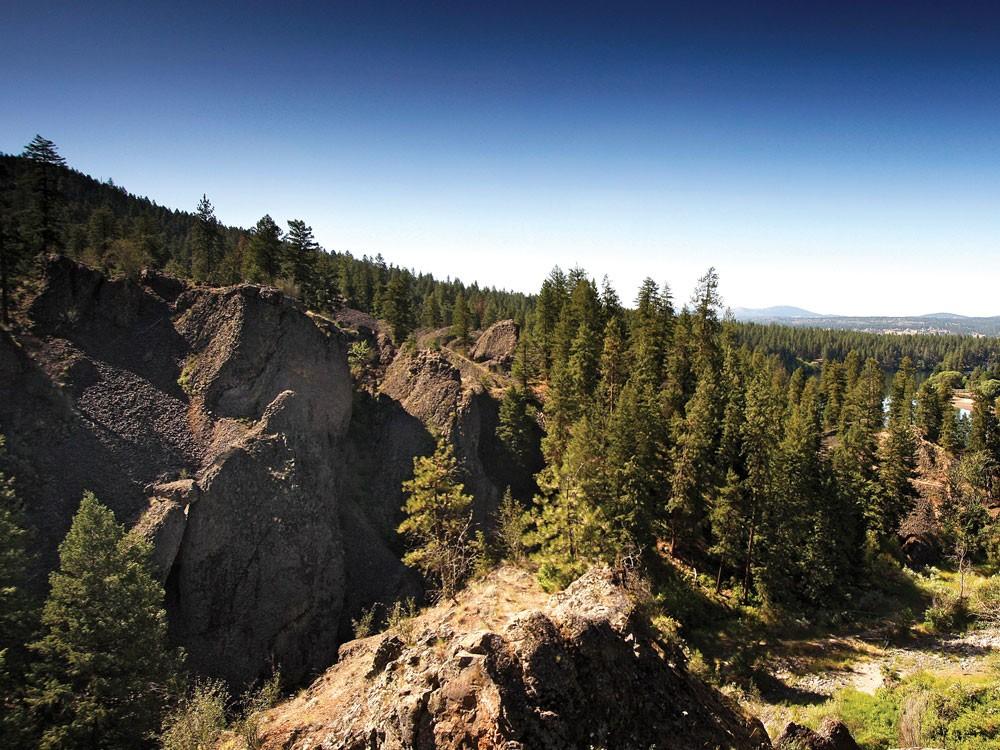 Deep Creek Canyon, near Nine Mile Falls - YOUNG KWAK