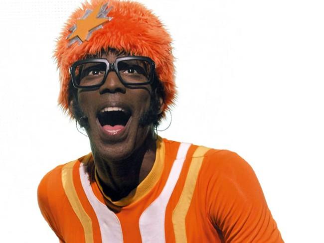 DJ Lance Rock, host of Yo Gabba Gabba!