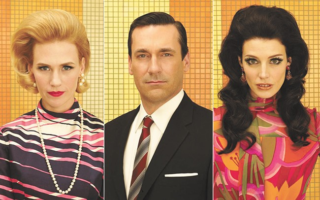 Don Draper, a man with two ex-wives and two lives.