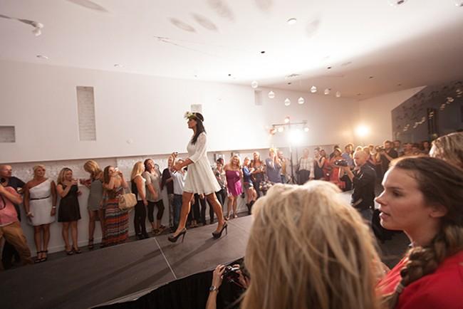 Dora Berger walks the runway. - YOUNG KWAK