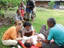 Dr. Alisa Hideg wants to help Indonesians take control of their health care futures.