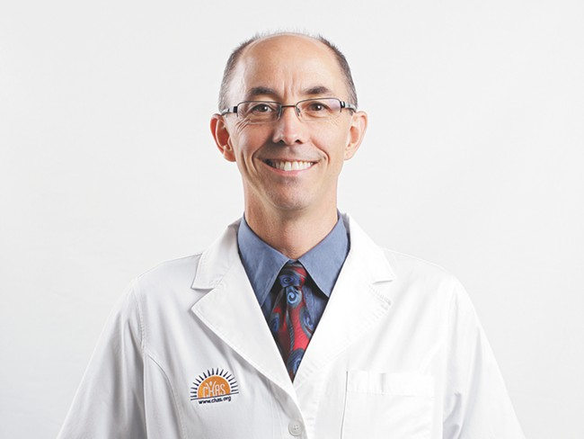 Dr. William Lockwood is the new medical director at CHAS. - YOUNG KWAK