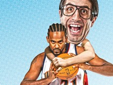 Earl commits a personal foul against Ronny Turiaf - ILLUSTRATION: CHRIS BOVEY