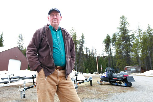 Ed Porter, owner of Priest Lake Power Sports, says land closures to protect the caribou have hurt Priest Lake businesses like his. - YOUNG KWAK