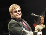 Elton John performs at the Spokane Arena.