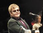 Elton John performs at the Spokane Arena.