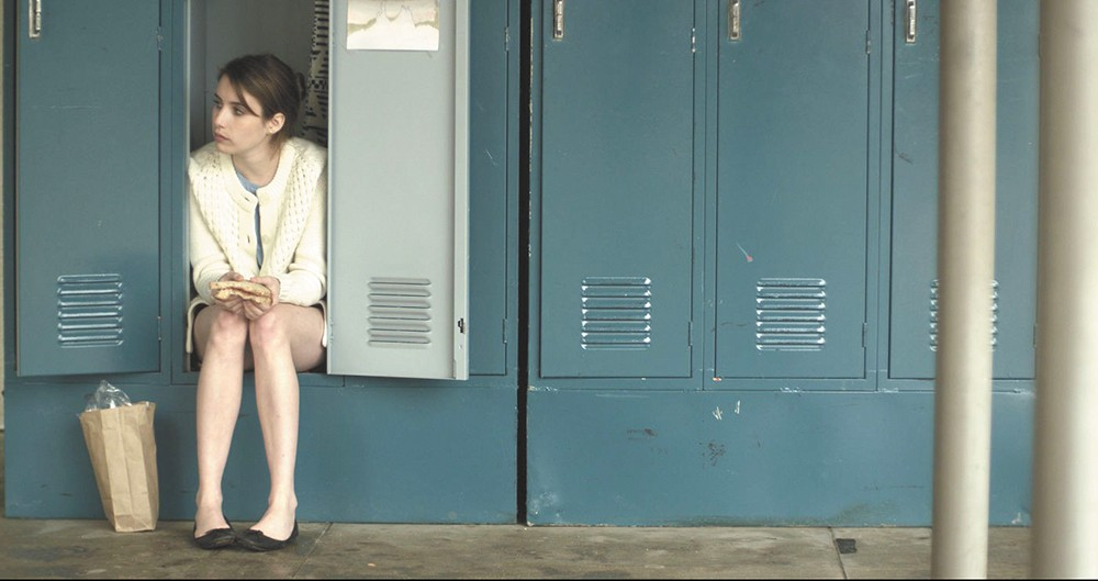 Emma Roberts stars in the adaptation of James Franco's short stories.