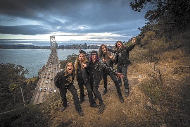 Exodus, the bad-ass Bay Area thrash-metal act, still has something to say.