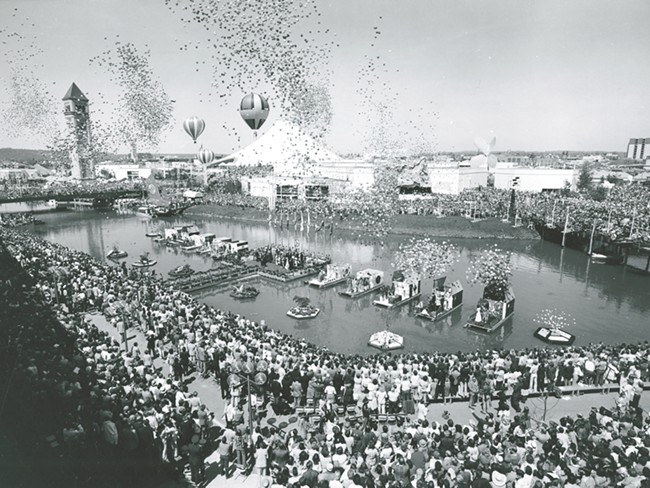 Expo '74 drew big crowds to Riverfront Park.