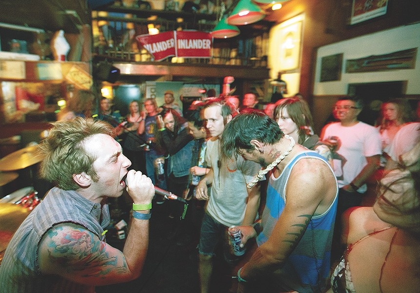 Fans packed downtown venues during last year's Volume. Expect more of the same this weekend. - YOUNG KWAK