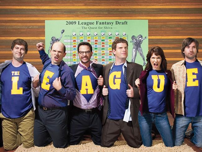 Fantasy footballers looking nerdy? No way!