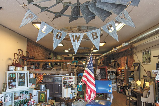 Find farm salvage and vintage items at Reardan Plowboy. - MATT WEIGAND