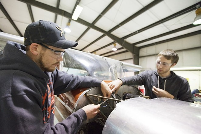 SCC Aviation Maintenance Training Program